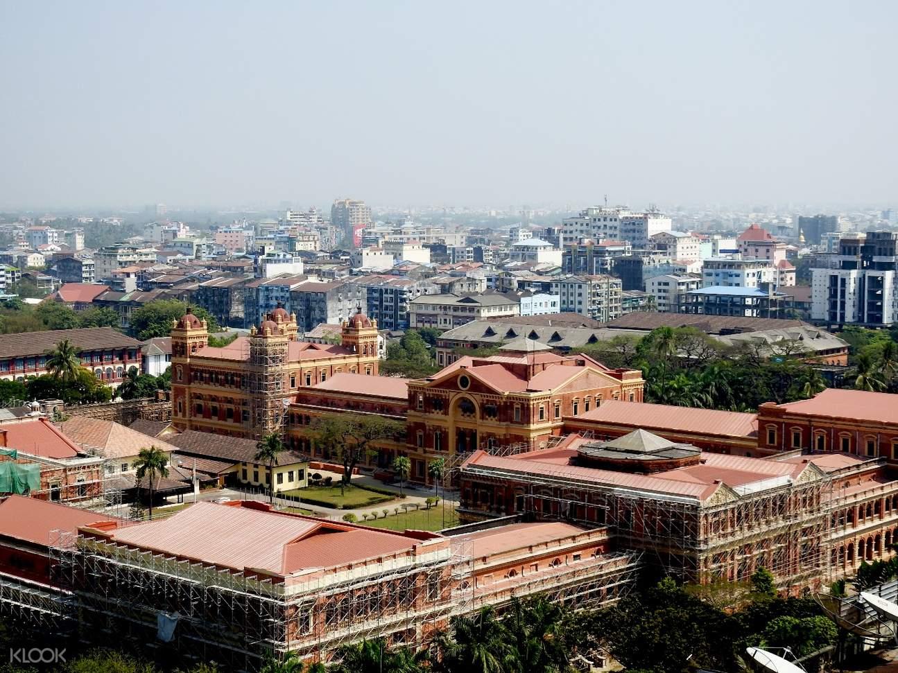 緬甸 仰光殖民地遺跡 私人導覽半日遊