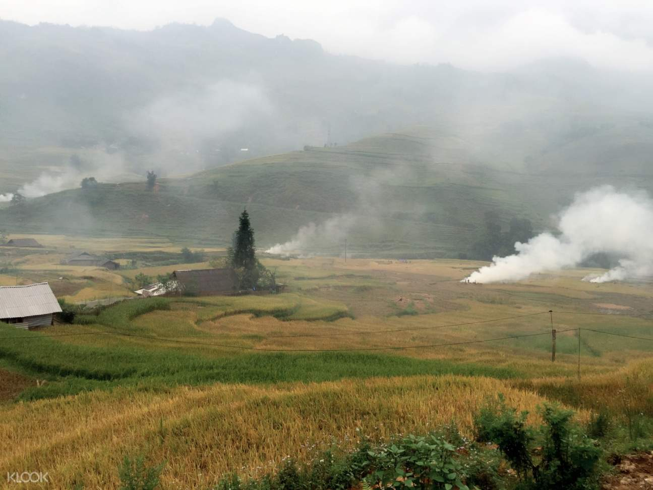 sapa trekking countryside