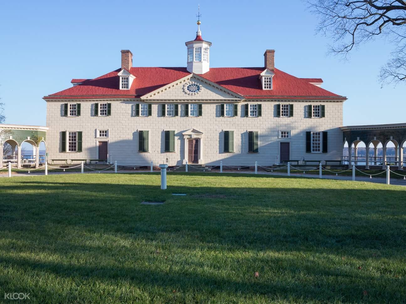 華盛頓特區景點,華盛頓特區通票,喬治·華盛頓,弗農山莊