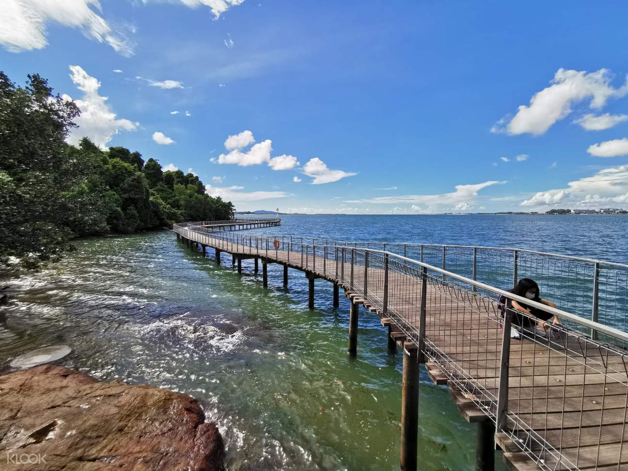 Pulau Ubin is an island which is located at the northeast of mainland Singapore