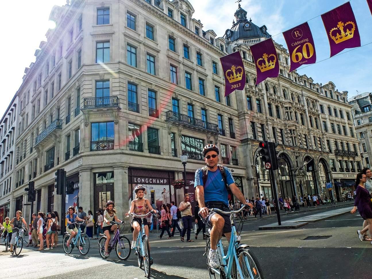 倫敦西區騎行之旅