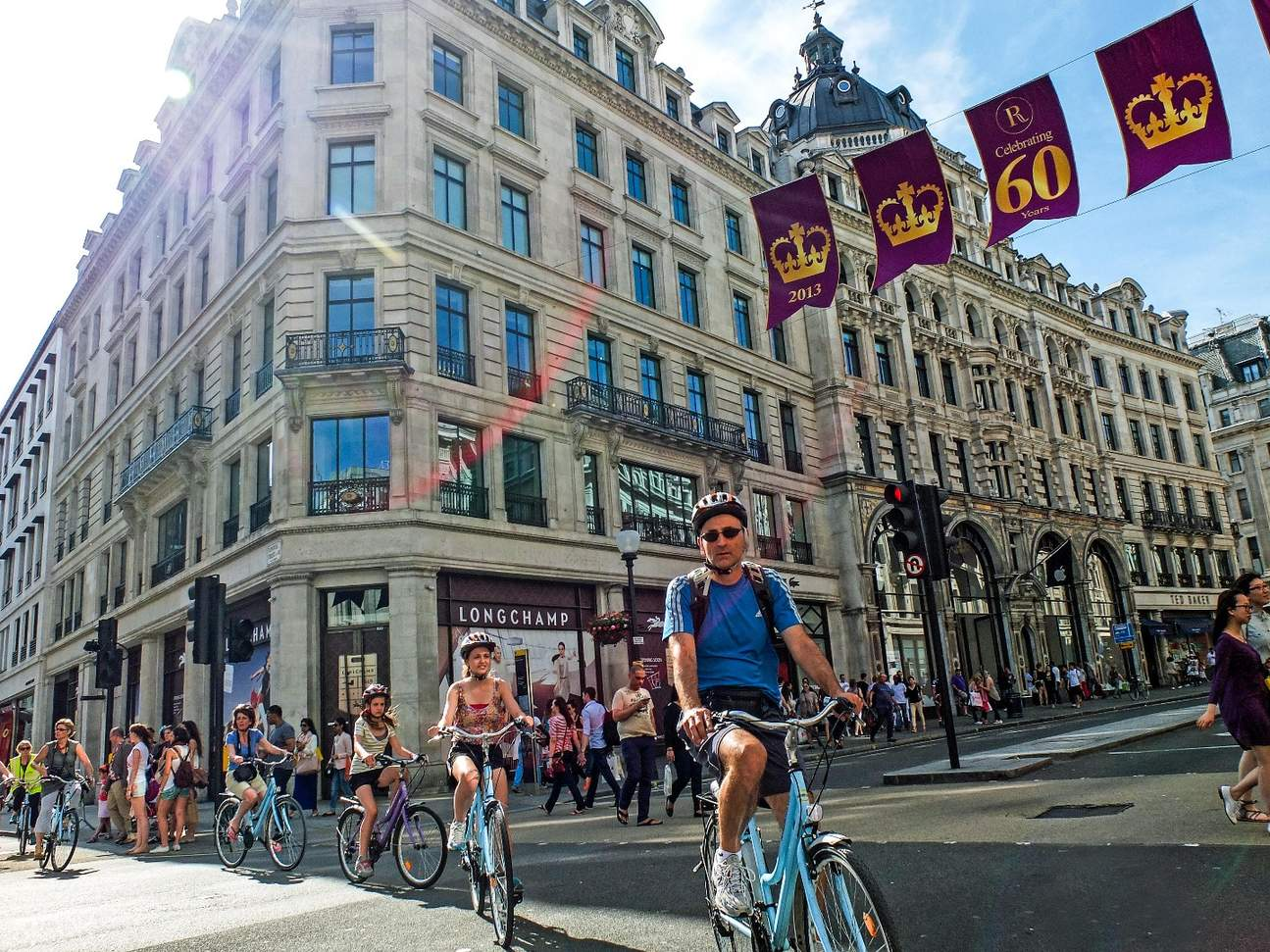 london west end bike tour