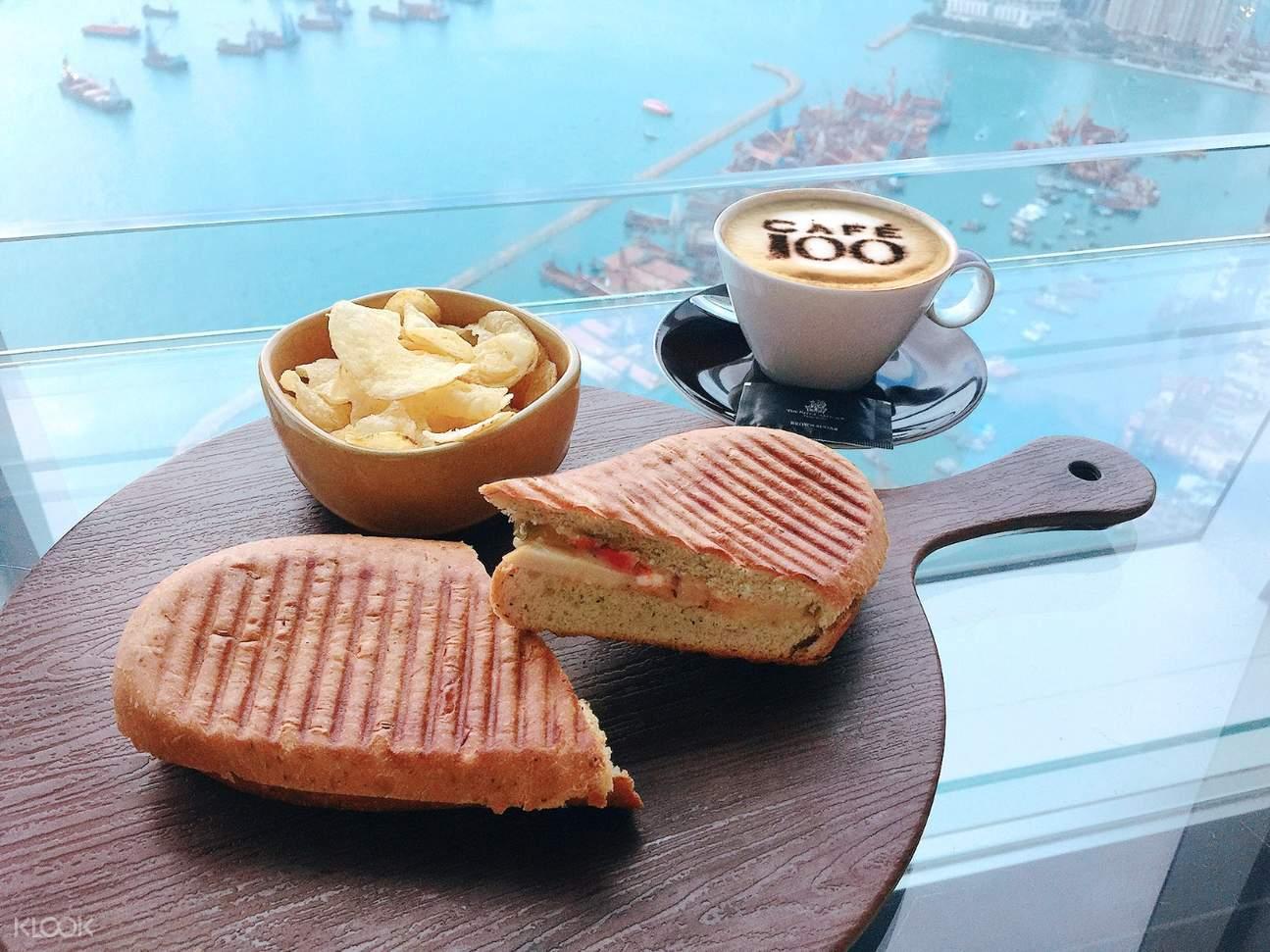Café 100下午茶