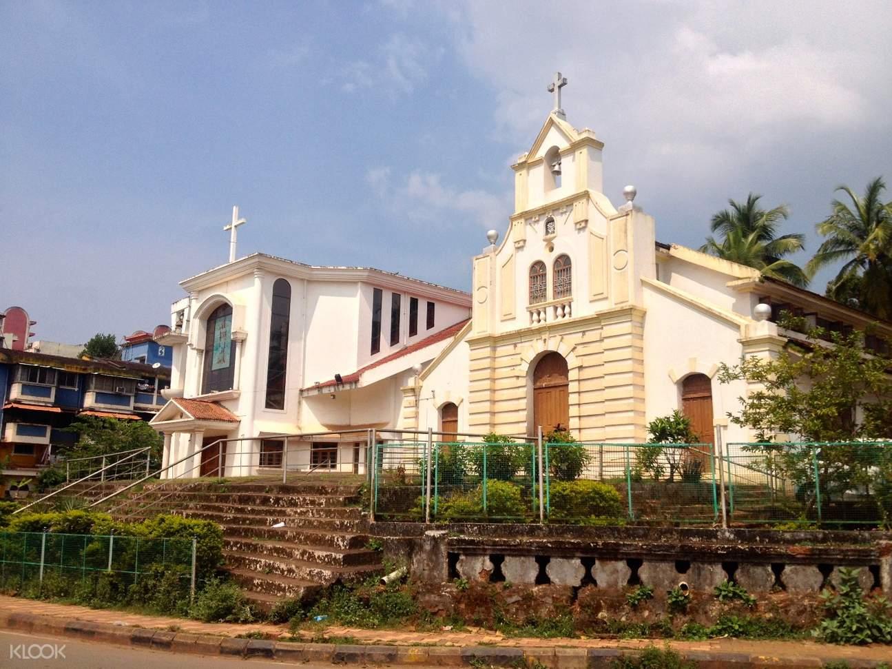印度 果阿邦徒步之旅 圣塞巴斯蒂安教堂Chapel of St. Sebastian