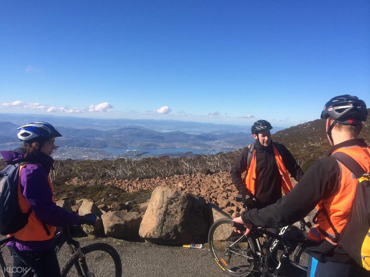 mt wellingtown descent bike tour