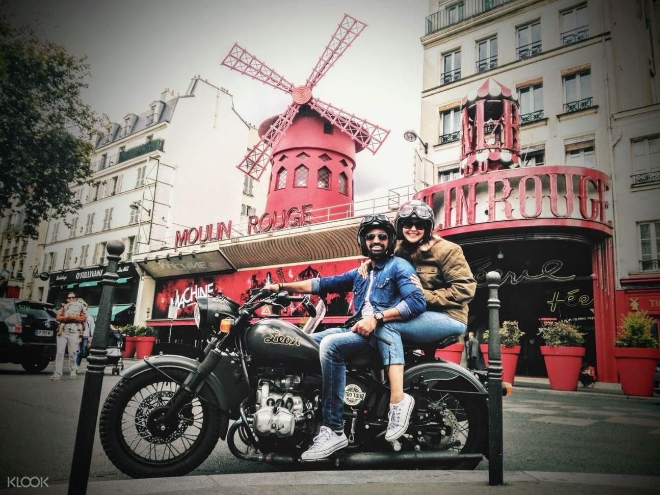 URAL摩托車邊車的司機兼導遊,帶你巴黎趴趴走