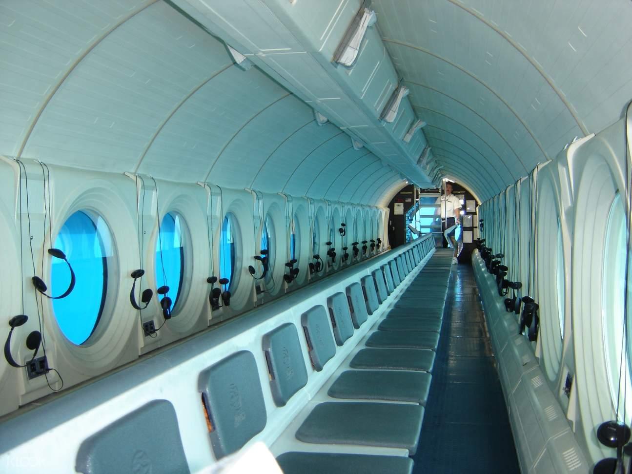 亞特蘭蒂斯潛水艇內部
