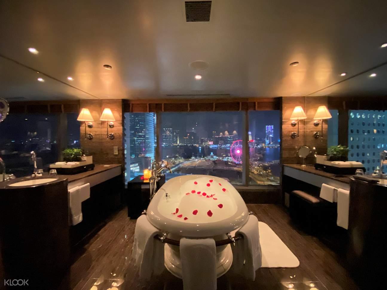 海景套房浴室