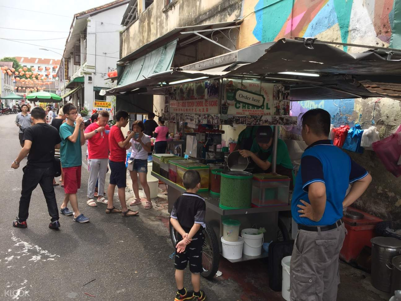 street food stalls in penang