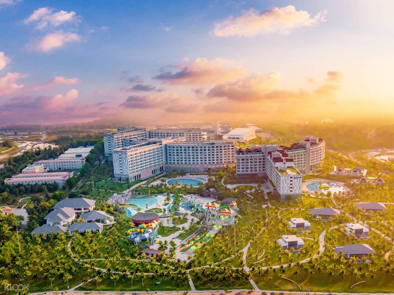 khu phức hợp nghỉ dưỡng của VinOasis Phú Quốc