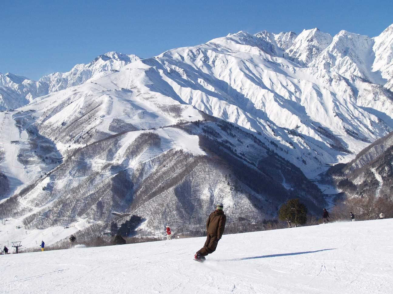 東京白馬山麓滑雪度假村纜車票