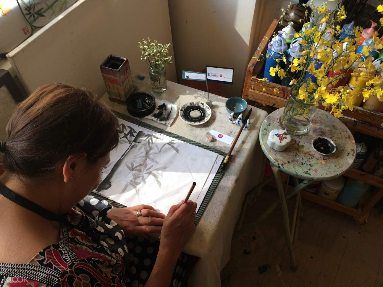 Chinese painting works