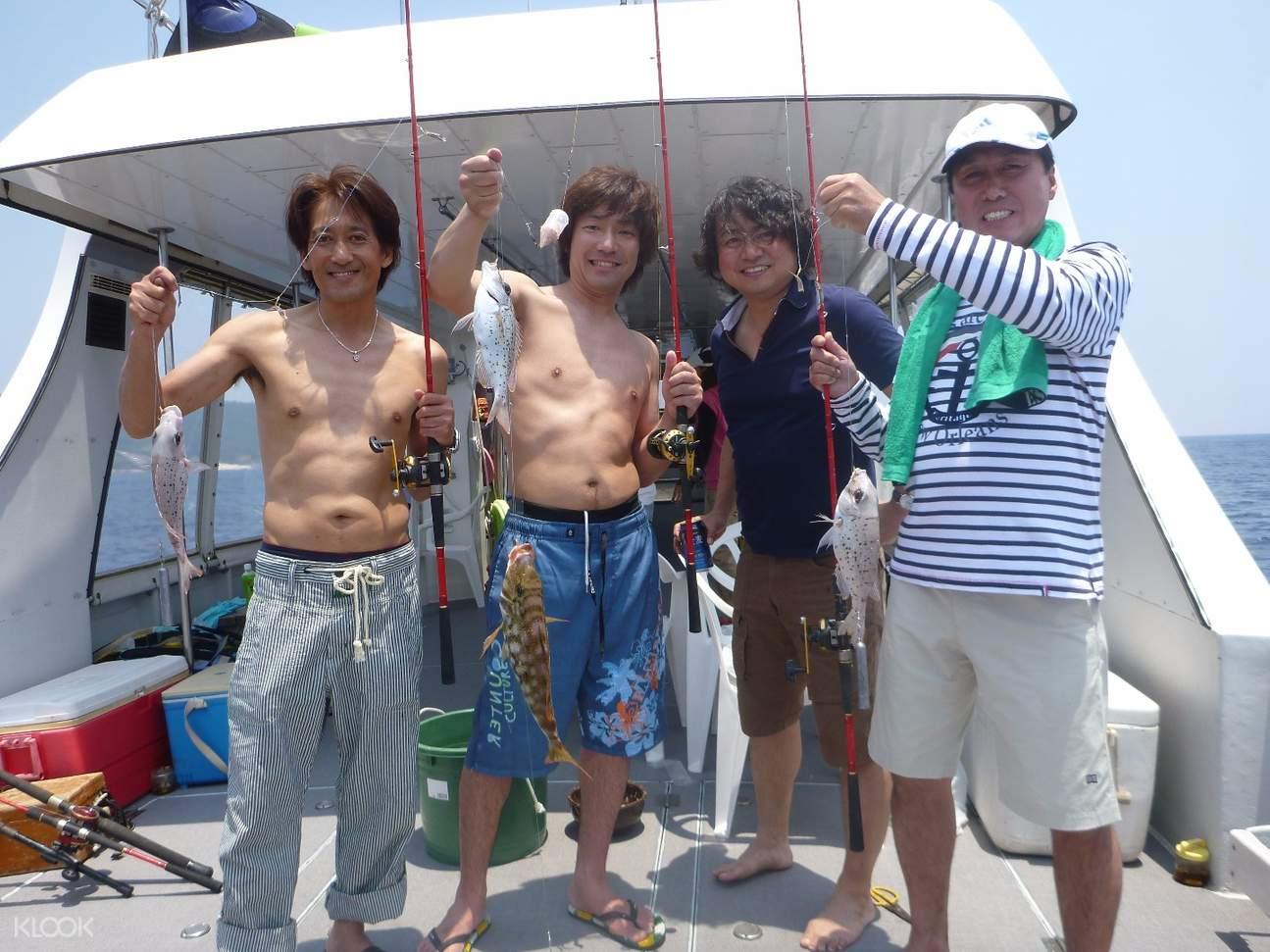 那霸半日海釣體驗