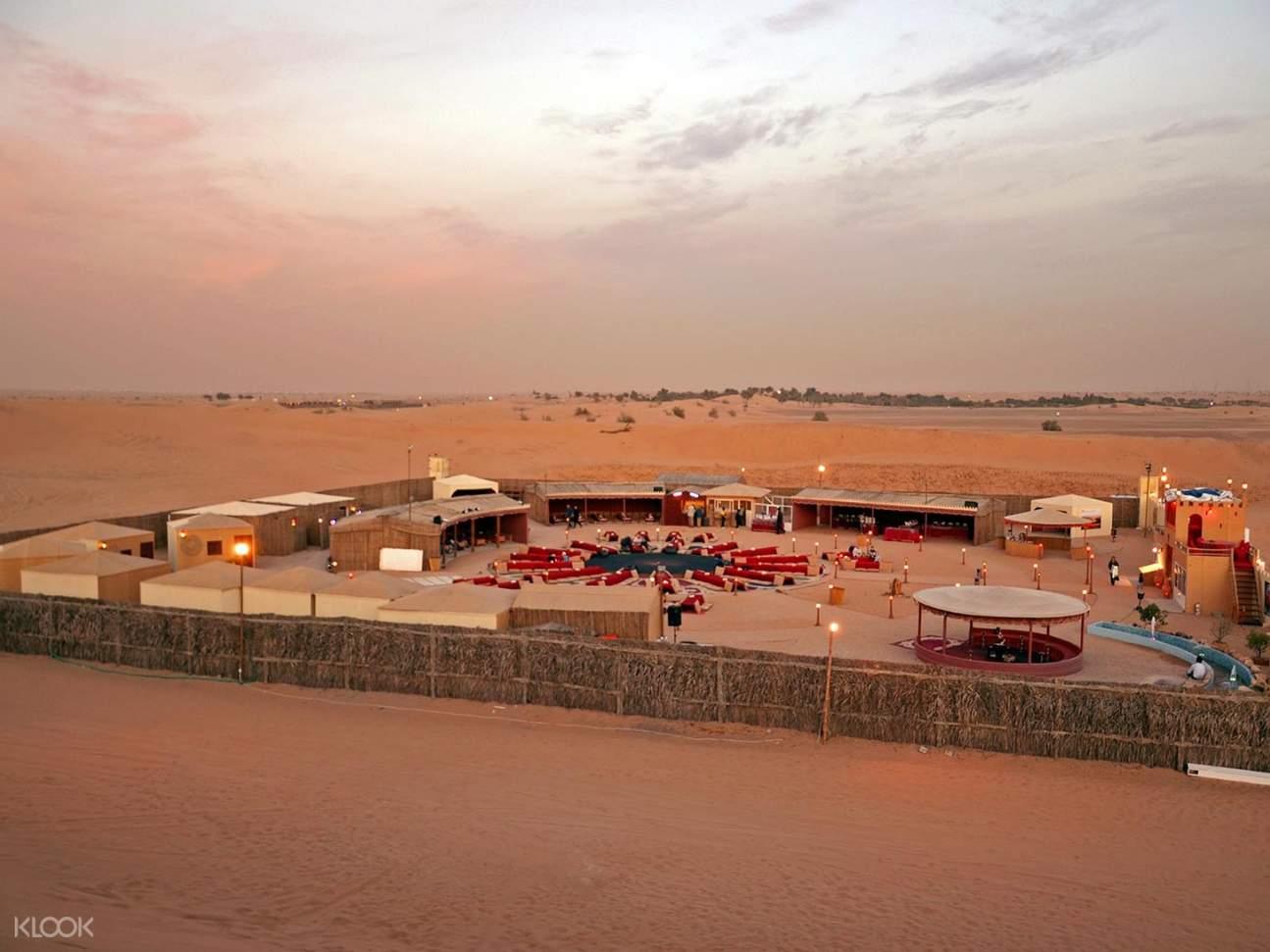杜拜沙丘貝都因(Bedouin)營地