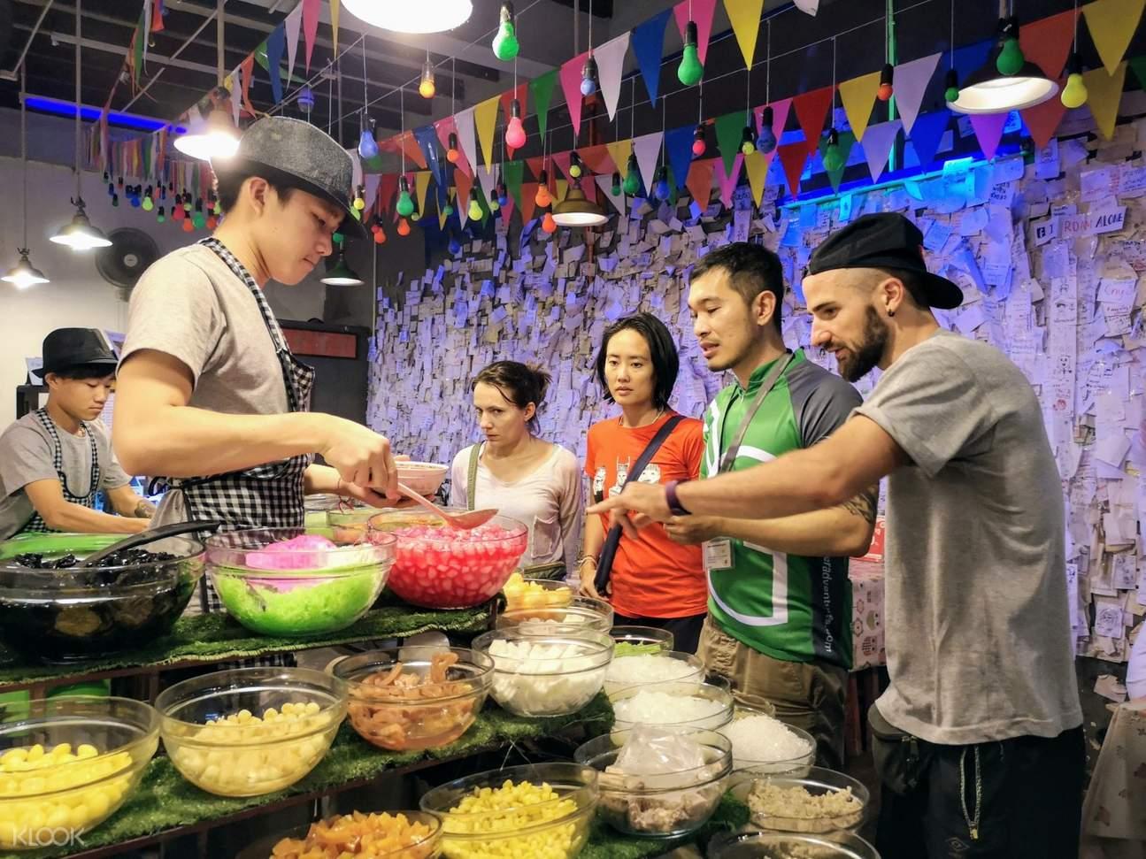 thai desserts in chiang mai