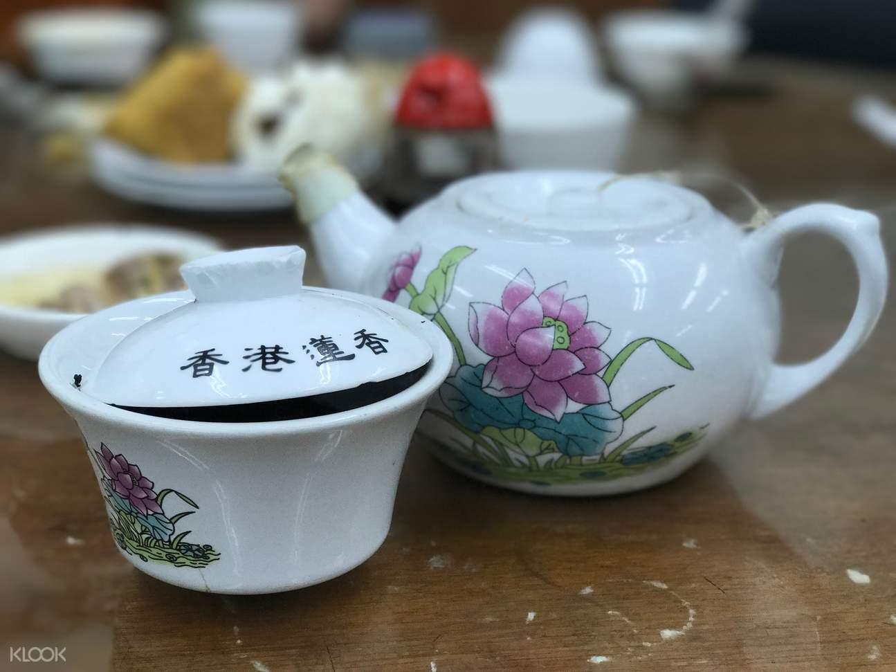 香港早茶,香港传统早茶,香港美食,莲香楼早茶