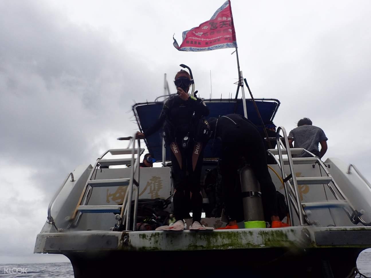 【綠島潛水證照】藍莎潛水3天2夜 PADI Advanced Open Water 進階開放水域潛水員課程