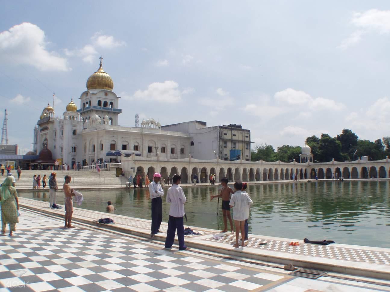 德里,德里清晨,洛迪花園,班戈拉·撒西比謁師所,國會大廈,印度門