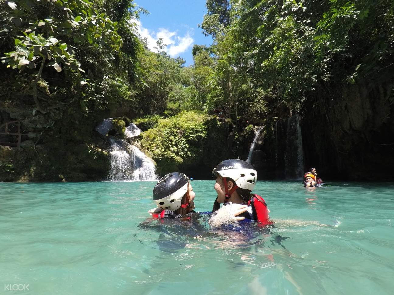 Badian Canyoneering lake