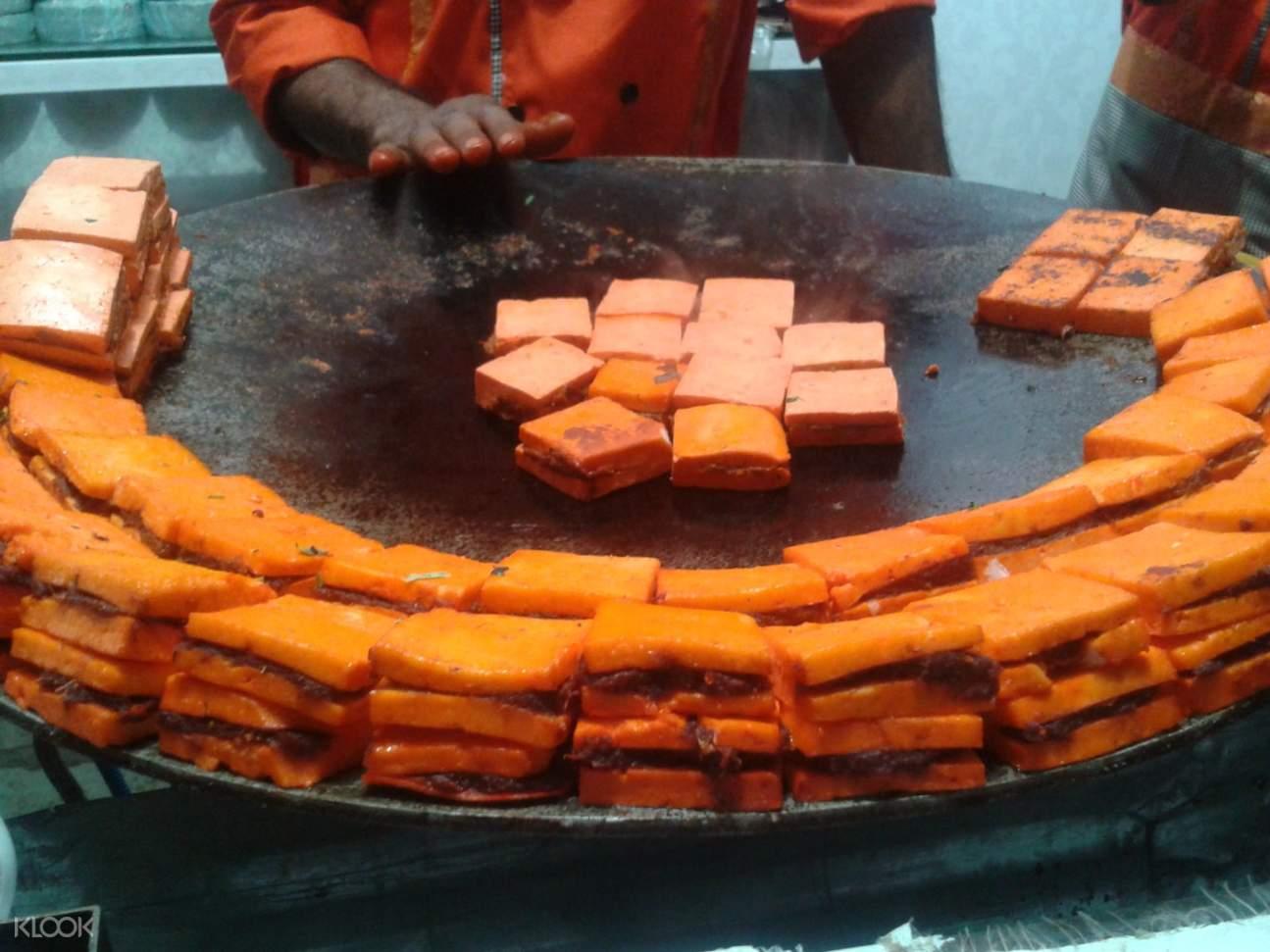 印度 阿格拉j街头美食