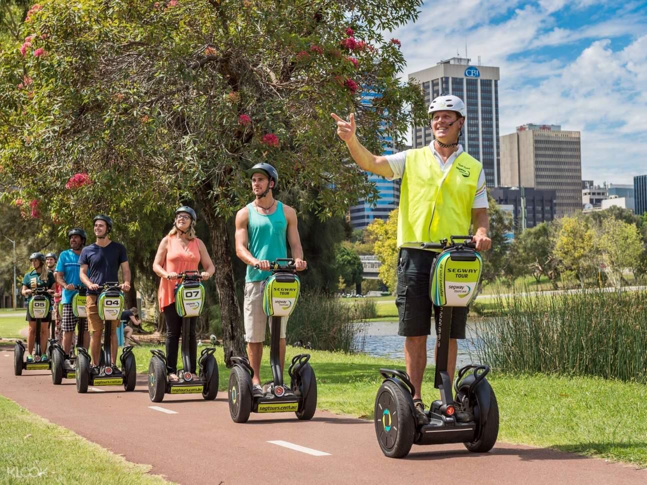 市內游覽珀斯賽格威(平衡車)之旅(伊麗莎白碼頭& 國王公園& 天鵝河)