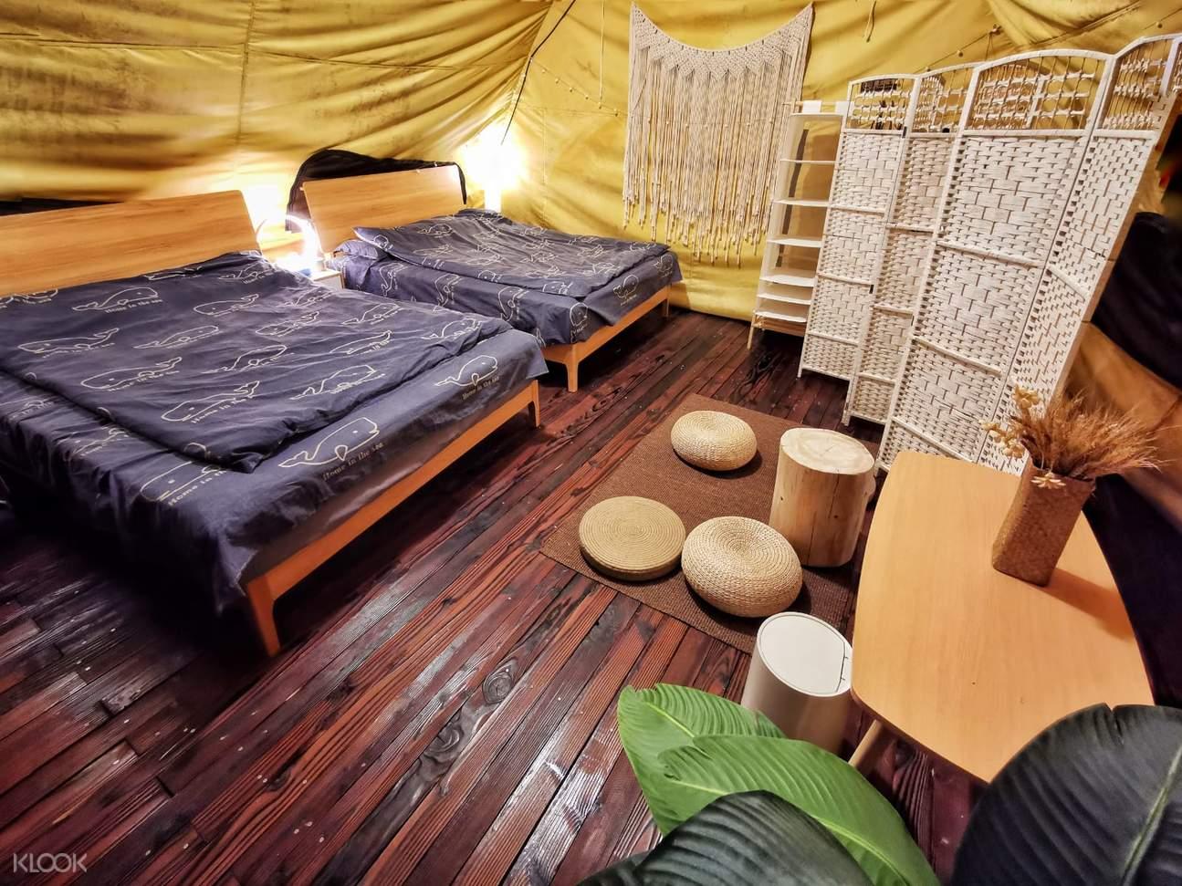 流浮山白泥豪華露營體驗