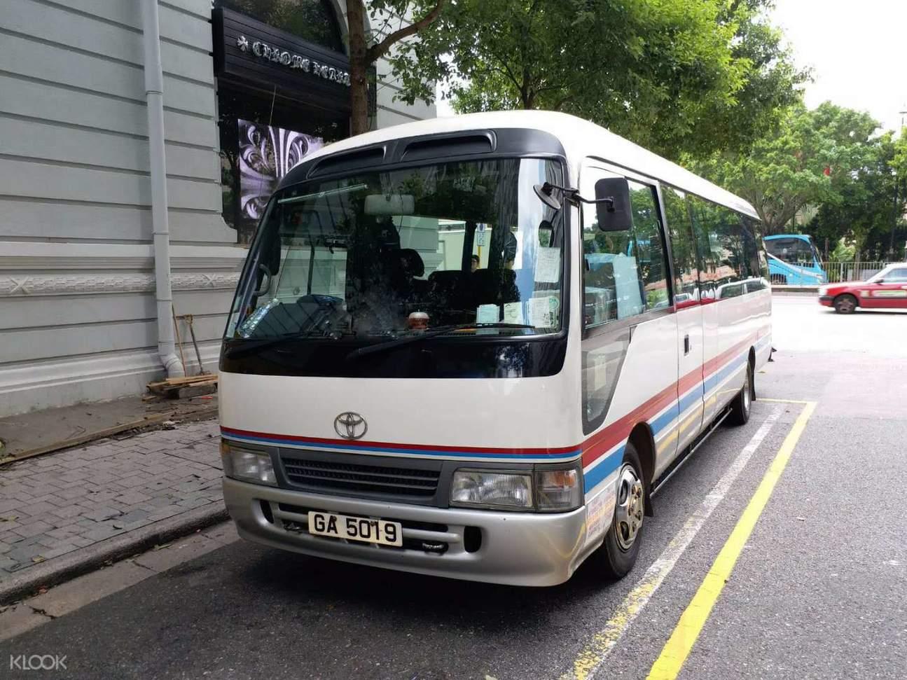the peak downhill bus wan chai hong kong