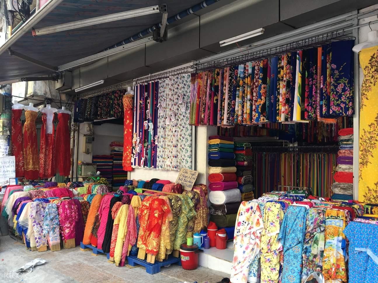 Soai Kinh Lam fabric town