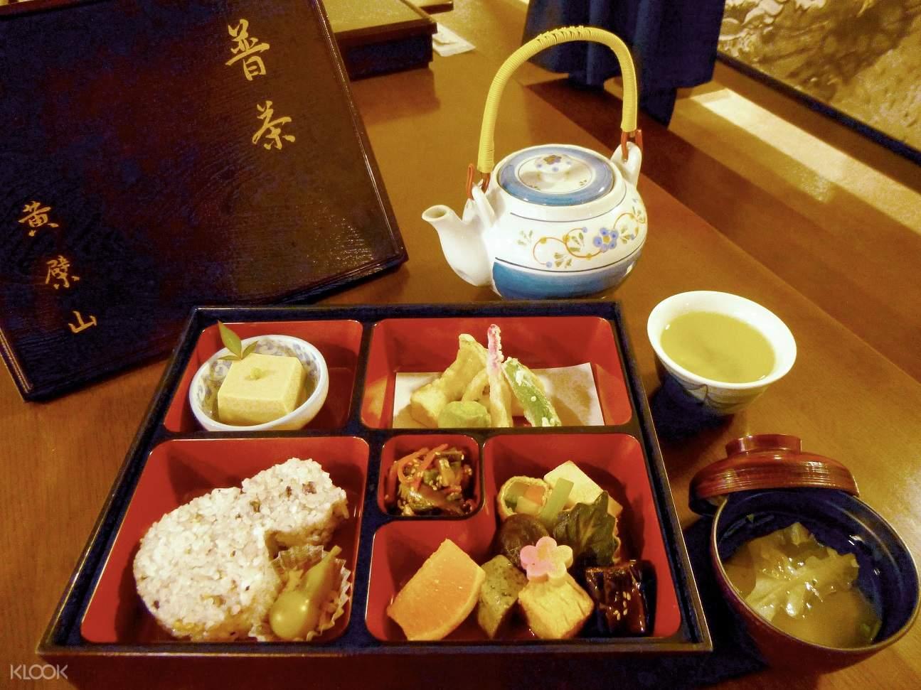 Manpuku-ji Temple lunch