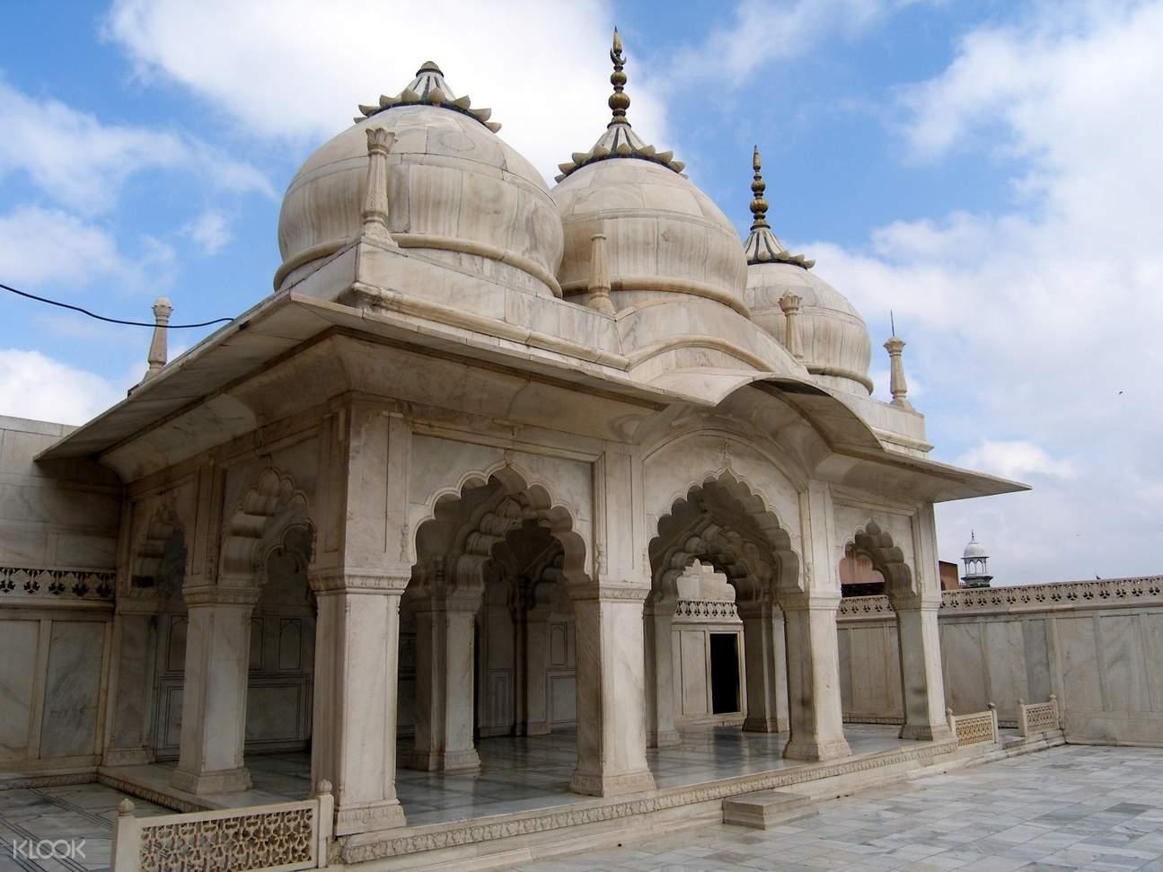印度 阿格拉堡 珍珠清真寺