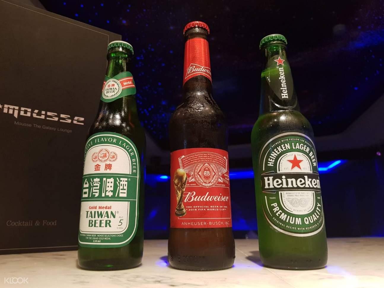 信义区Mousse酒吧啤酒