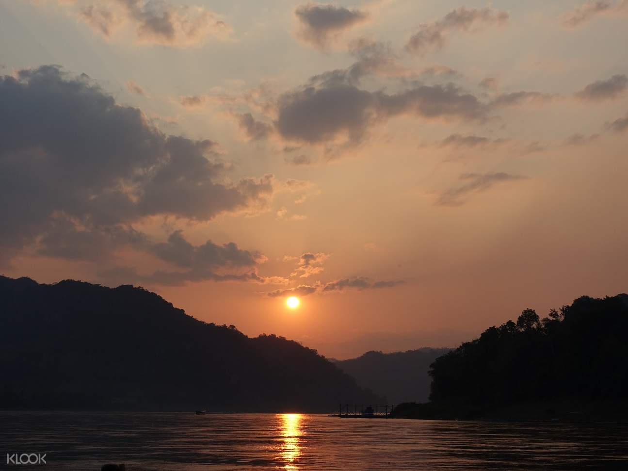 Sunset Over Luang Prabang