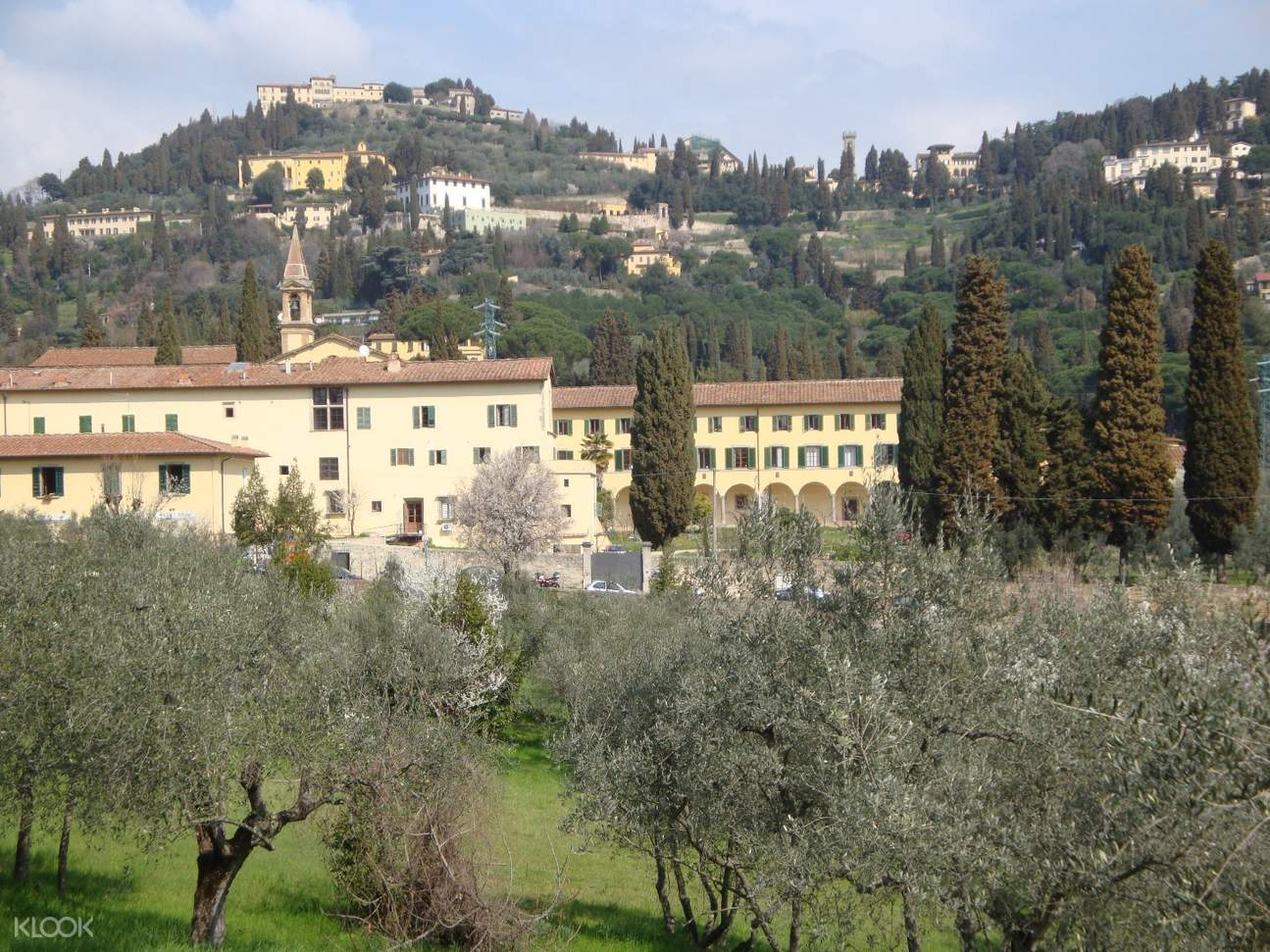 fiesole and florentine hills