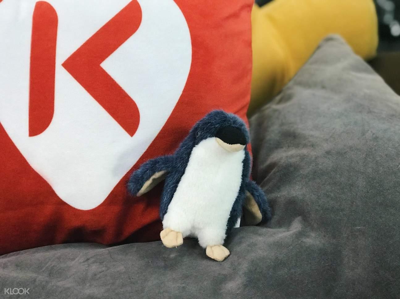 免费企鹅填充玩偶