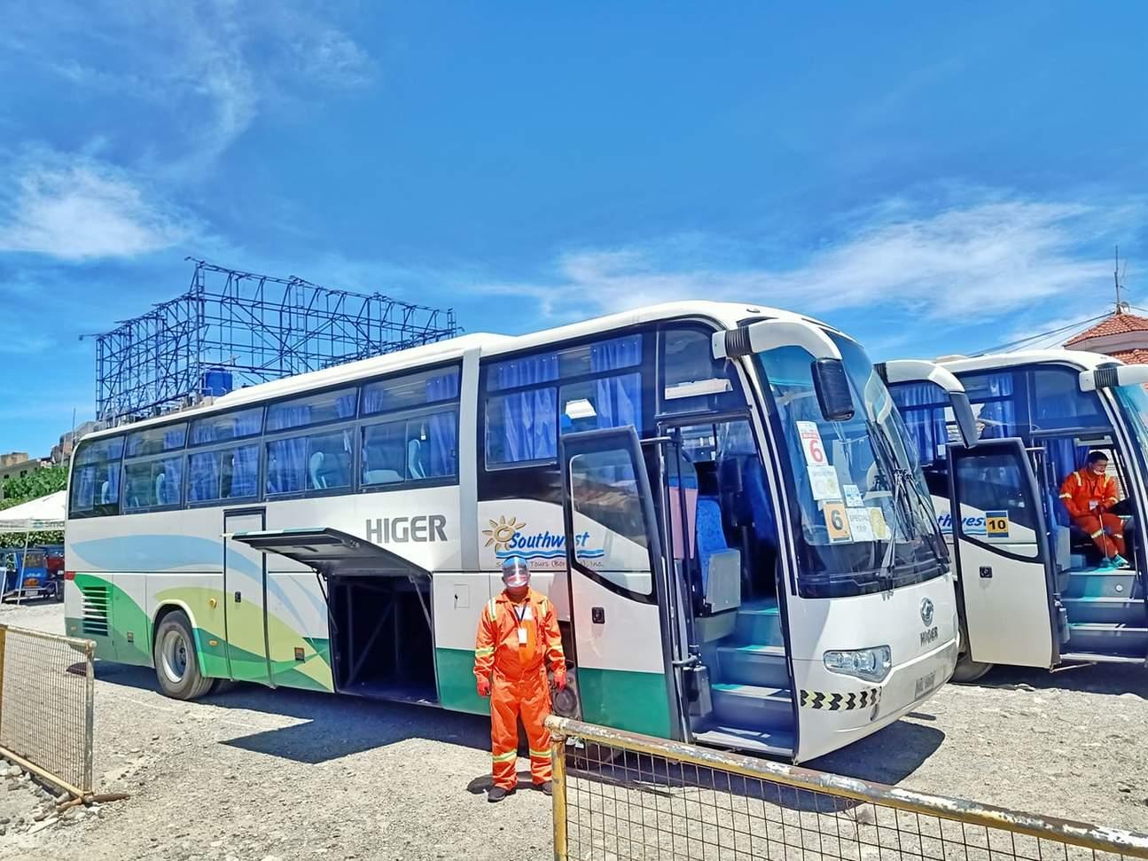 bus for Kalibo transfer