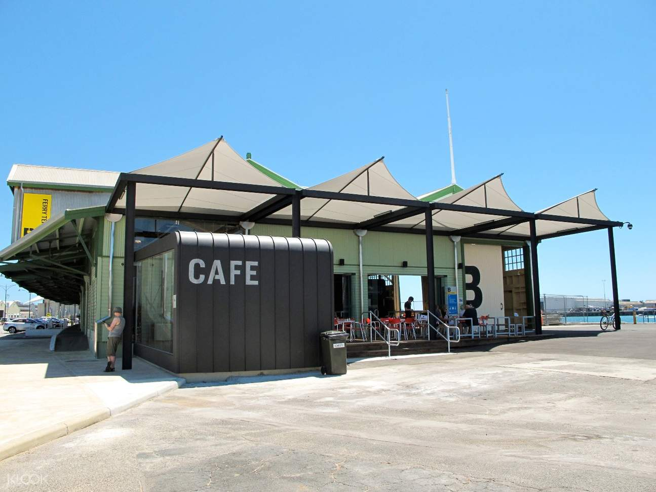 Rottnest Island Ferry Service B-Shed Femantle Departures