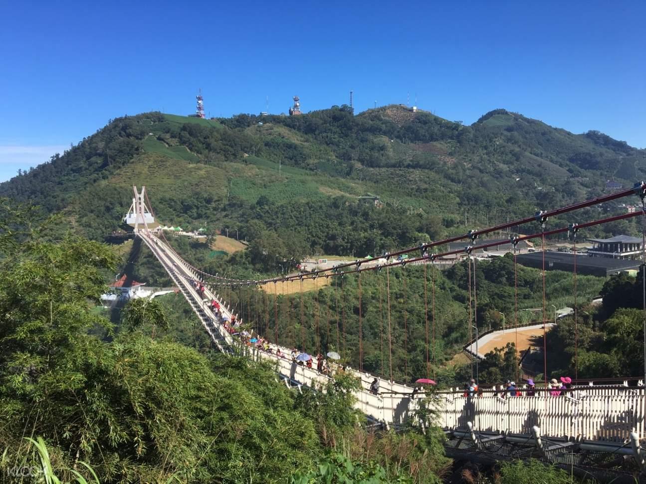 嘉义太平云梯一日游,嘉义当地游,台湾特色游