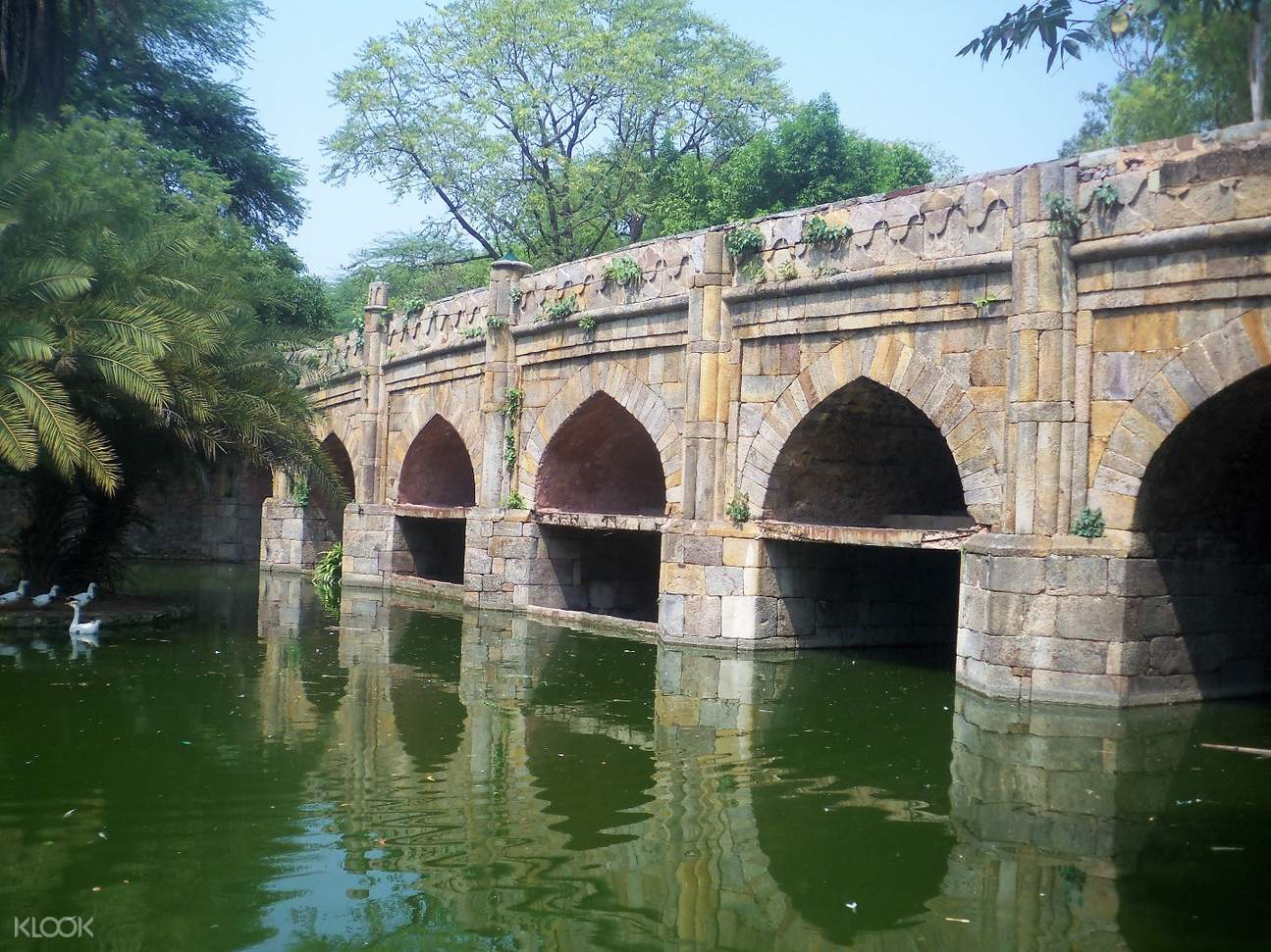 印度 德里 athpula 八墩桥