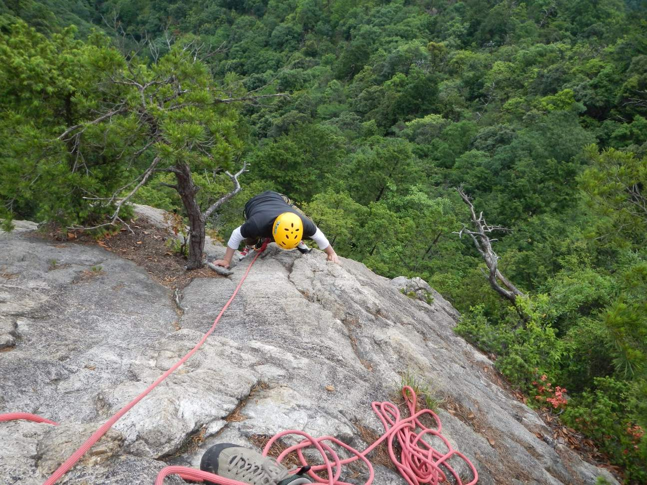 rock climbing Kyoto