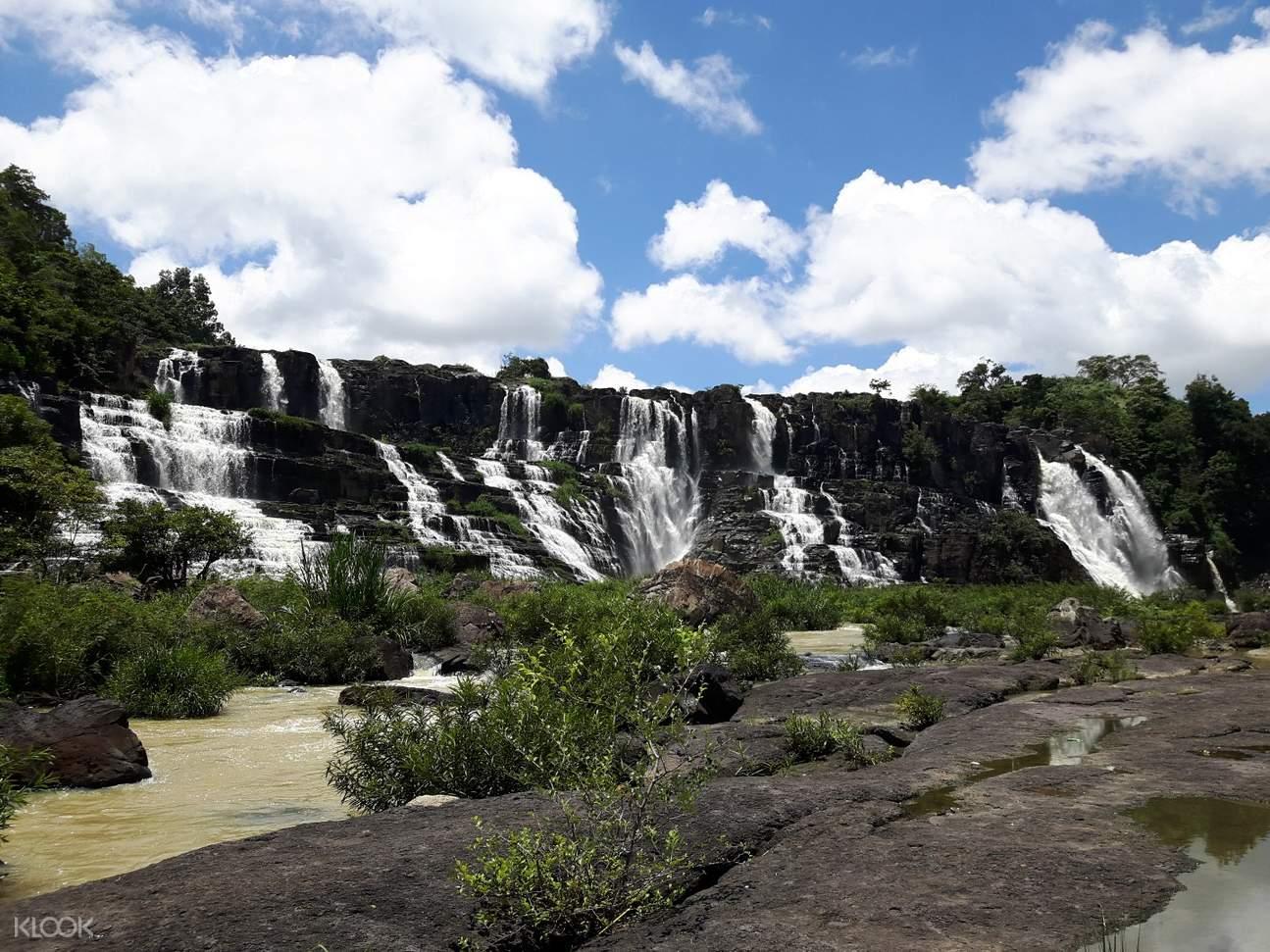 越南 林同 庞卡尔瀑布