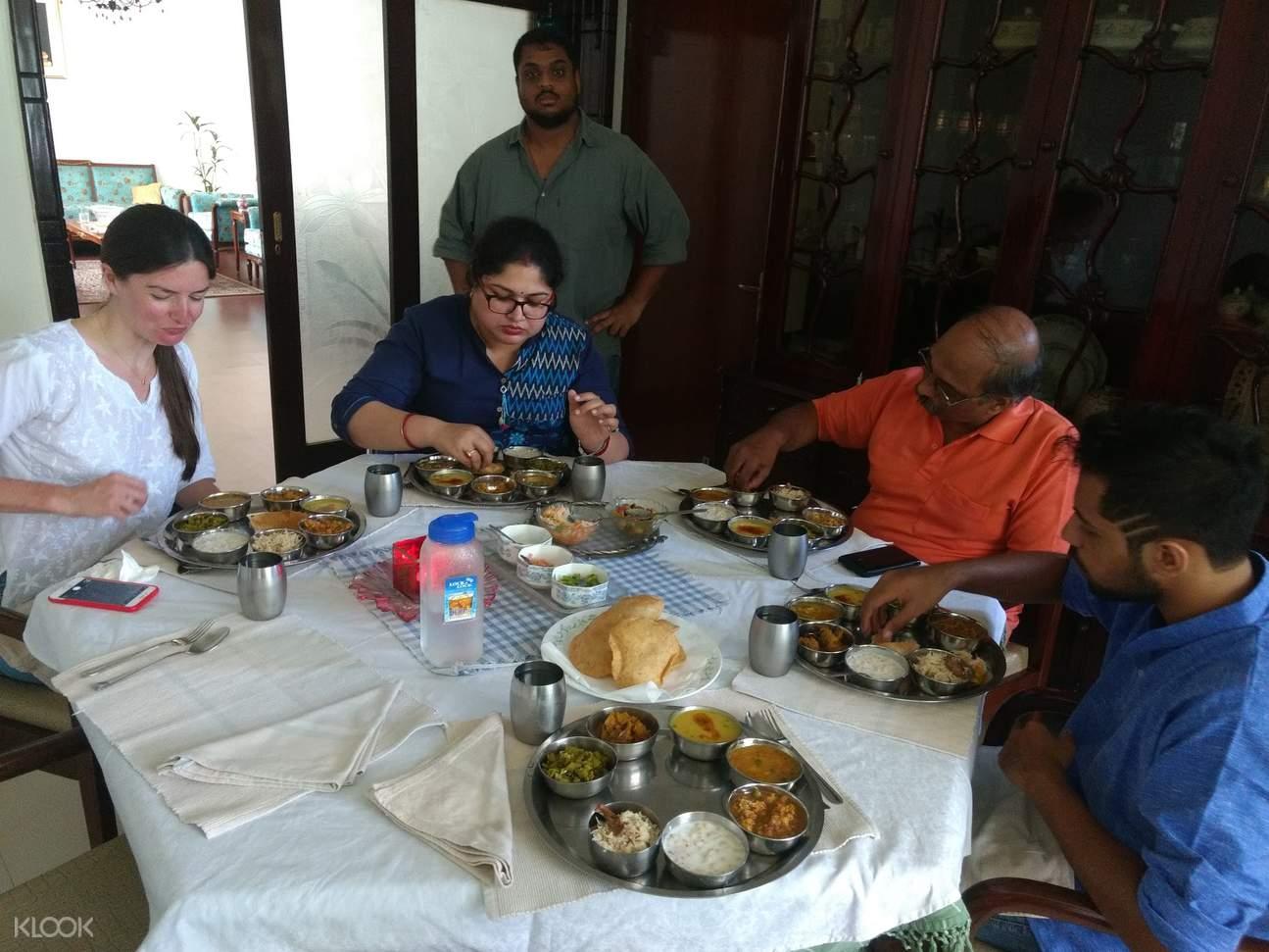 Delhi cooking class