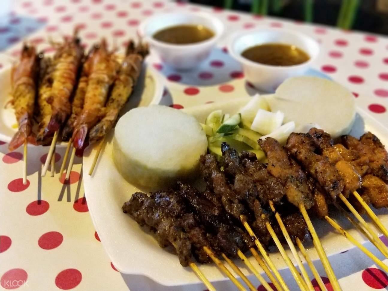best satay 8 set meal
