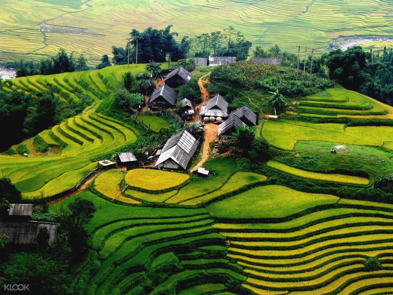 越南旅游,萨帕旅游,徒步萨帕之旅,越南梯田,徒步萨帕