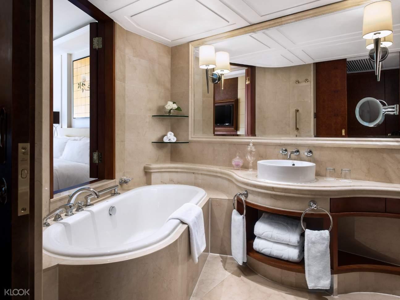 內園景高級客房 浴室