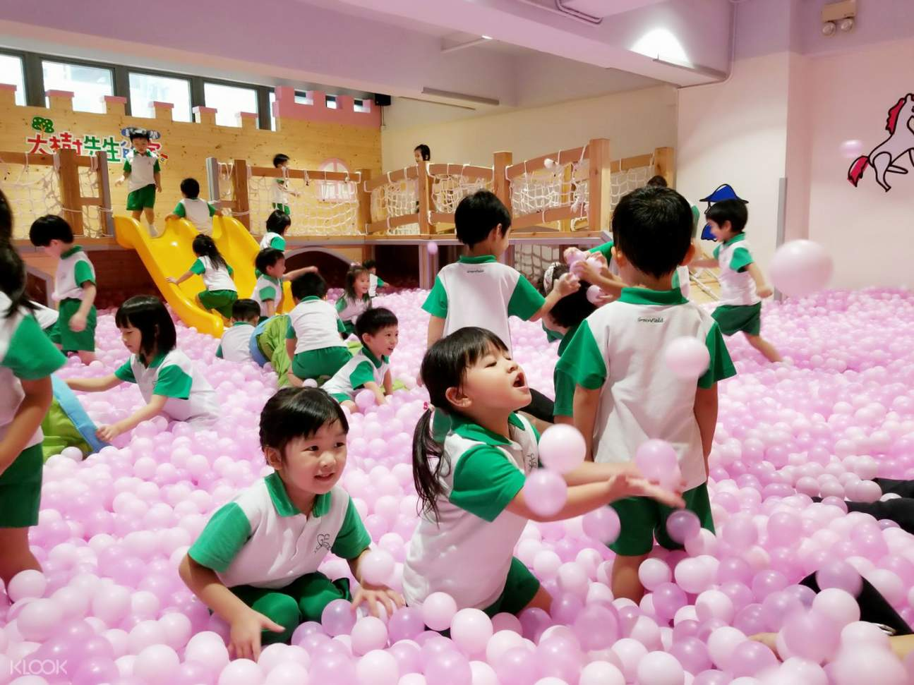 mr tree in lai chi kok ball pit