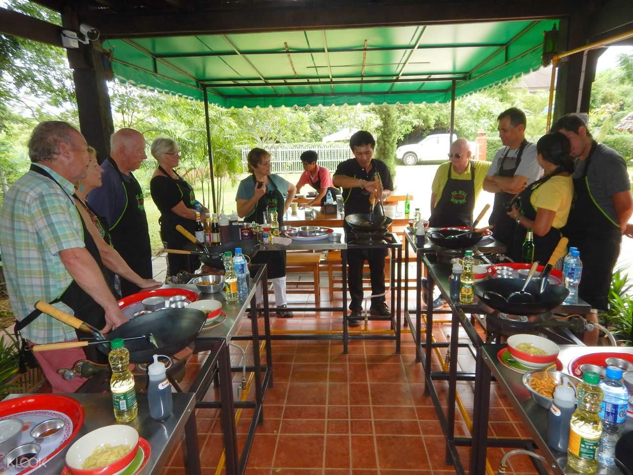 清迈美食,清迈烹饪课,清迈美食课,清迈特色体验