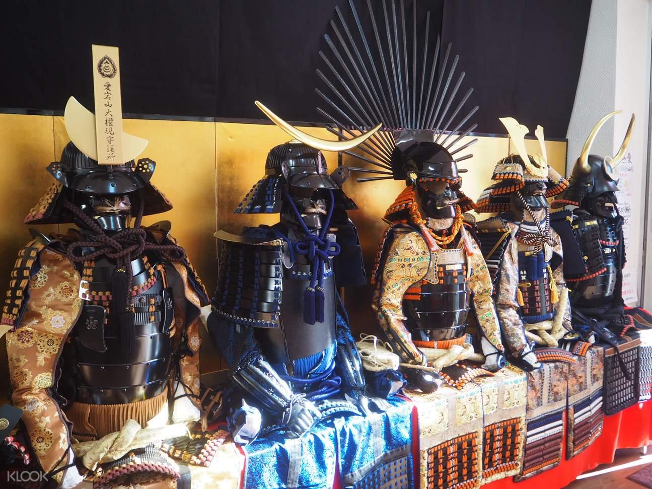 東京淺草武士甲胄體驗