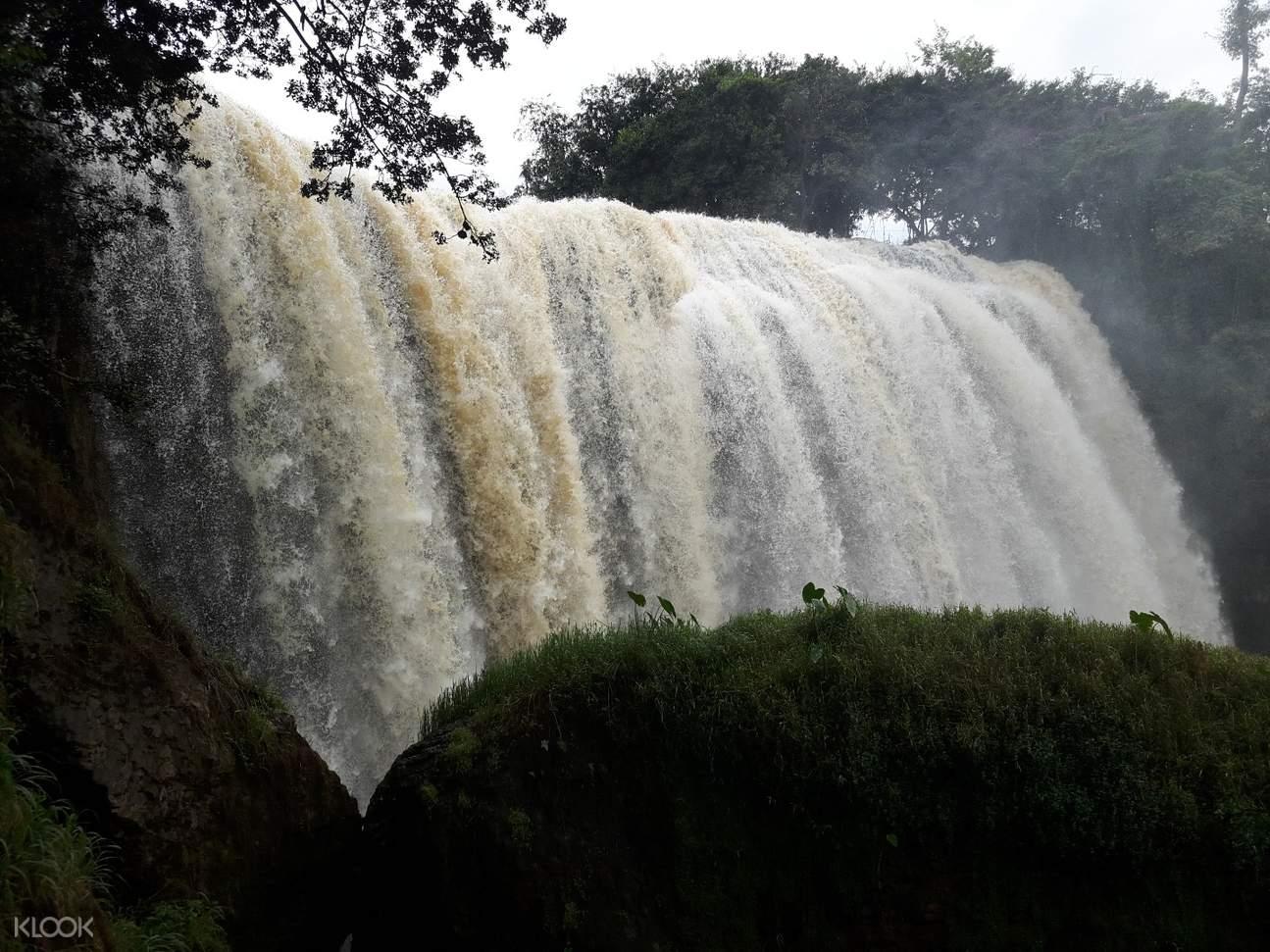 大叻大象瀑布