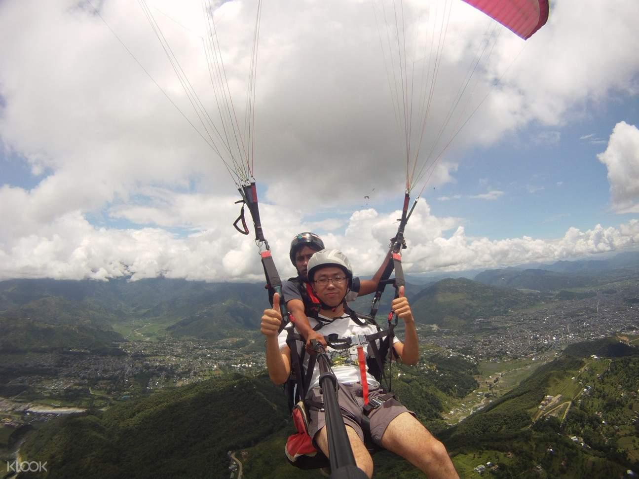印度孟買浦那Kamshet滑翔傘飛行體驗
