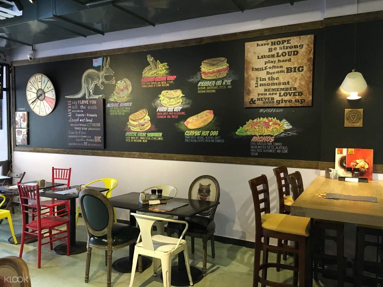 Lax Café interior